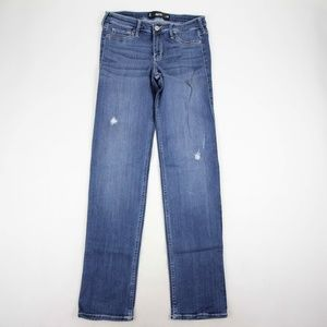 Hollister Women's Skinny Jeans Size 9 Distressed